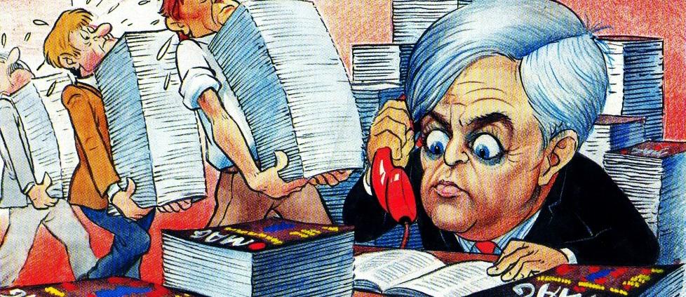 Politične karikature
